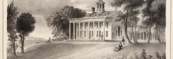 1754 George Washington Inherits Mount Vernon
