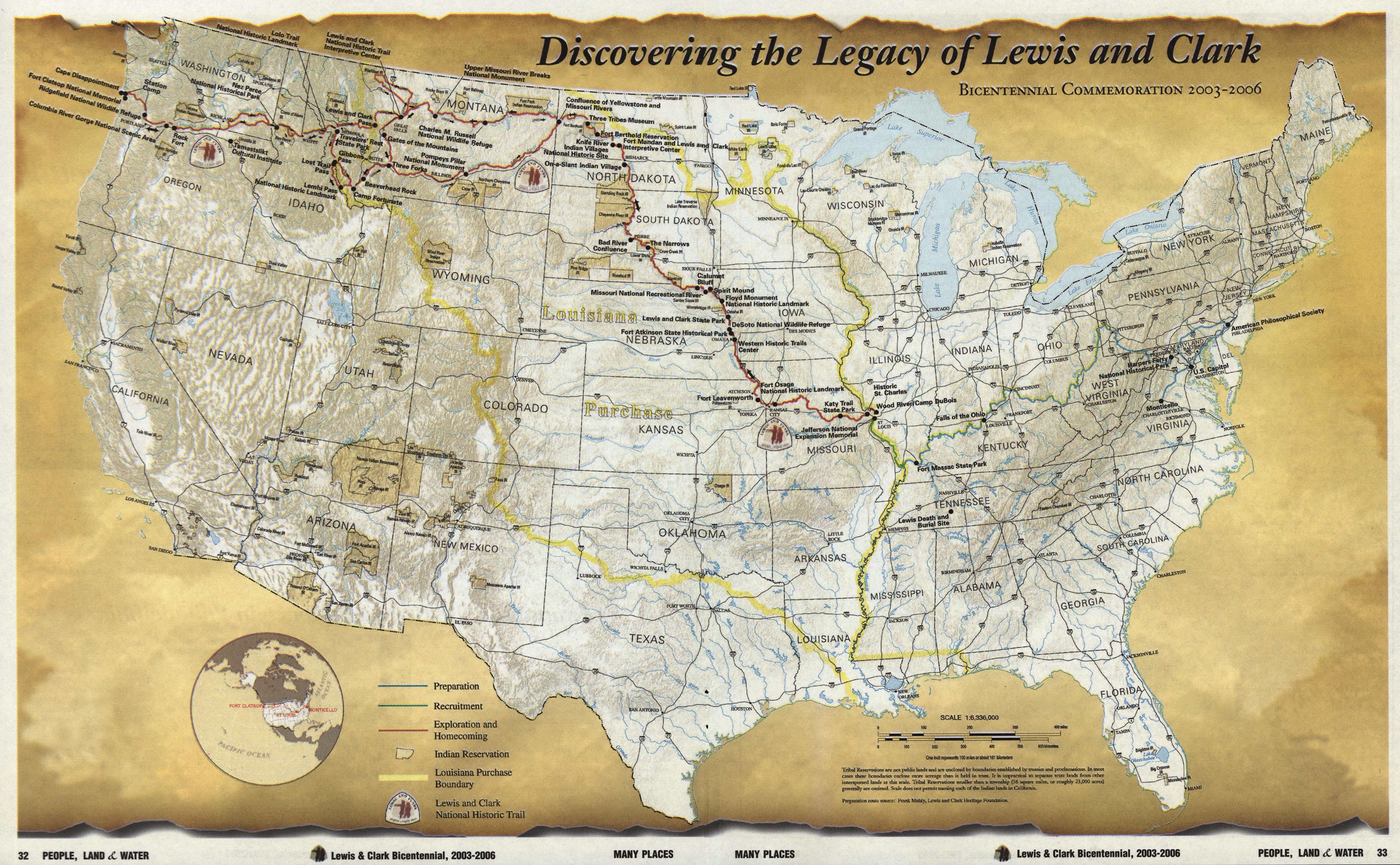 1803 The Louisiana Purchase