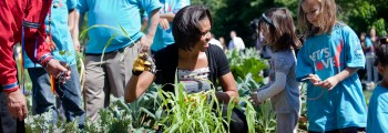 2009 Gardens Return to the White House