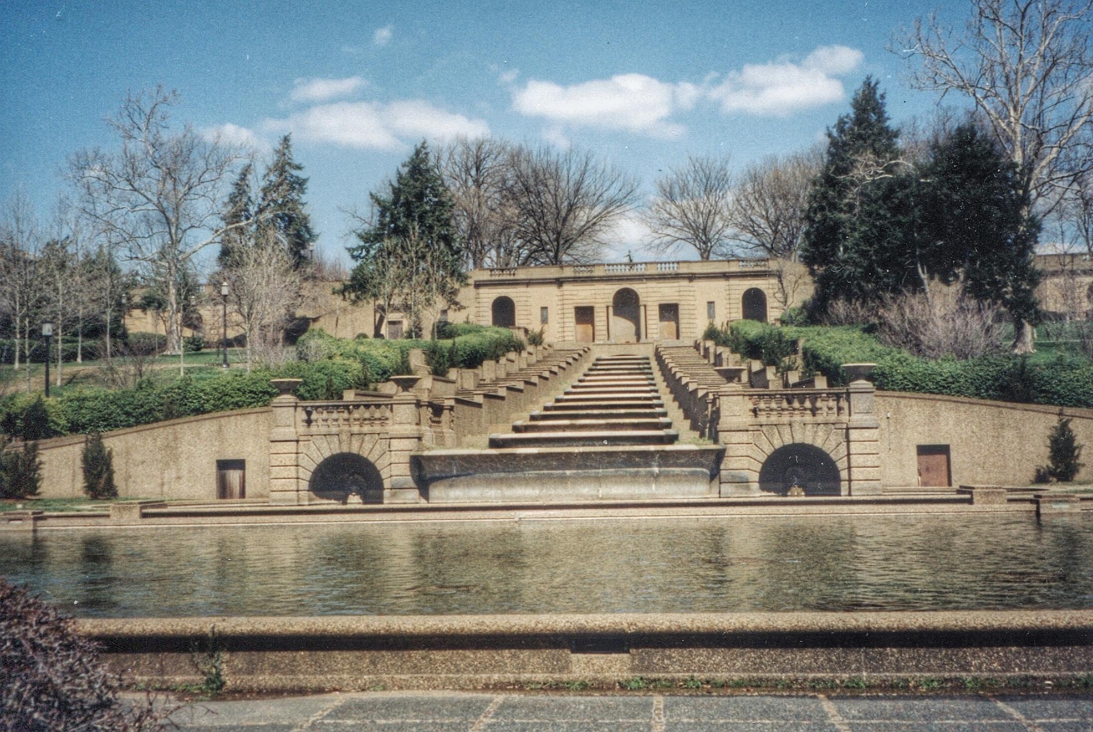 1990 Revitalization of Meridian Hill Park