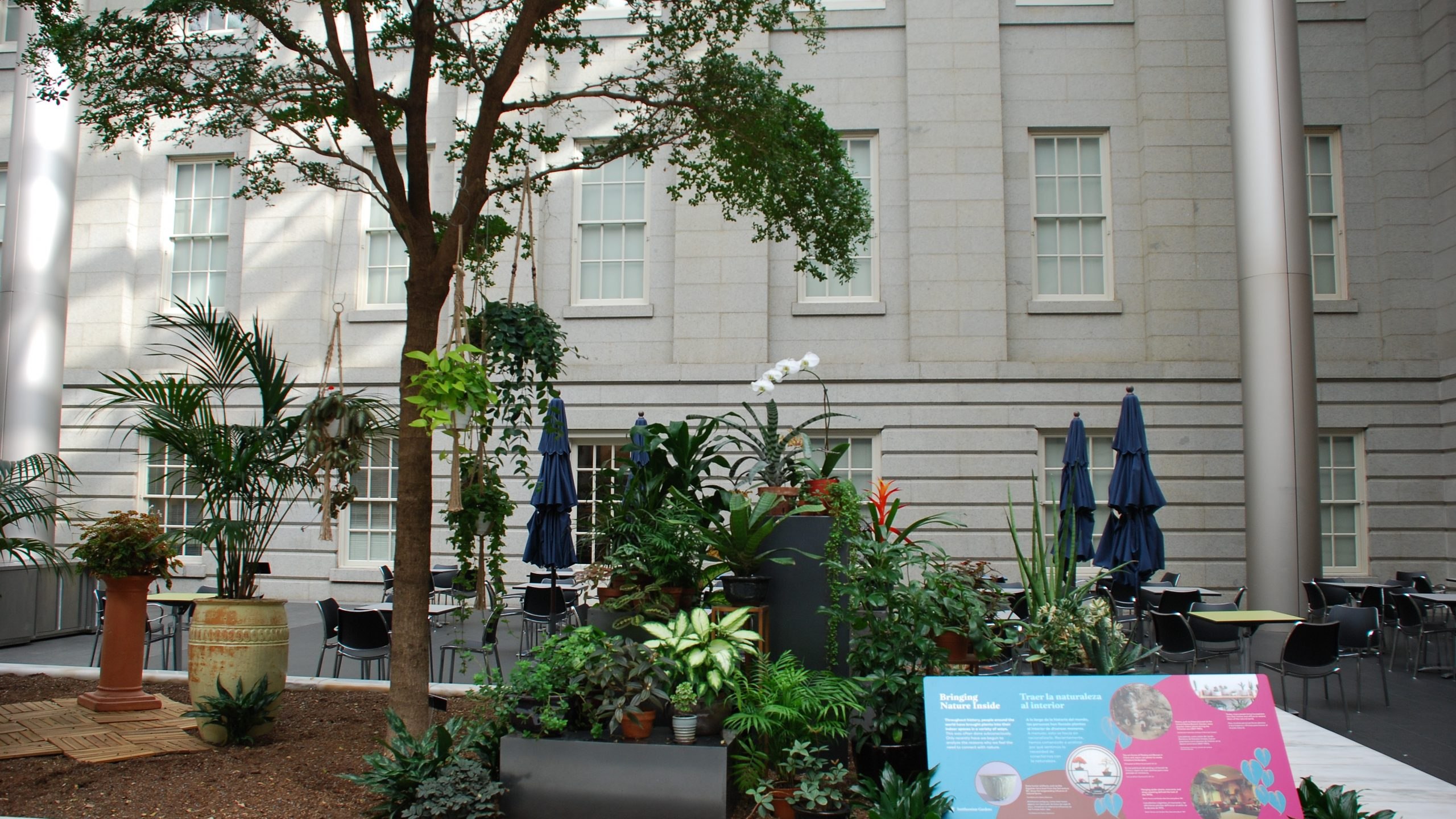 Habitat Exhibition: The Great Indoors at the Robert and Arlene Kogod Courtyard