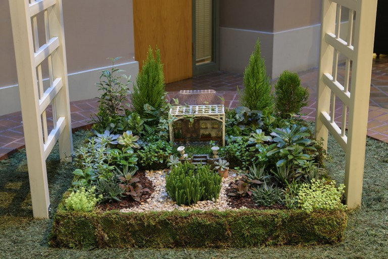 Garden Inspirations Exhibit in 2016 at the S. Dillon Ripley Center