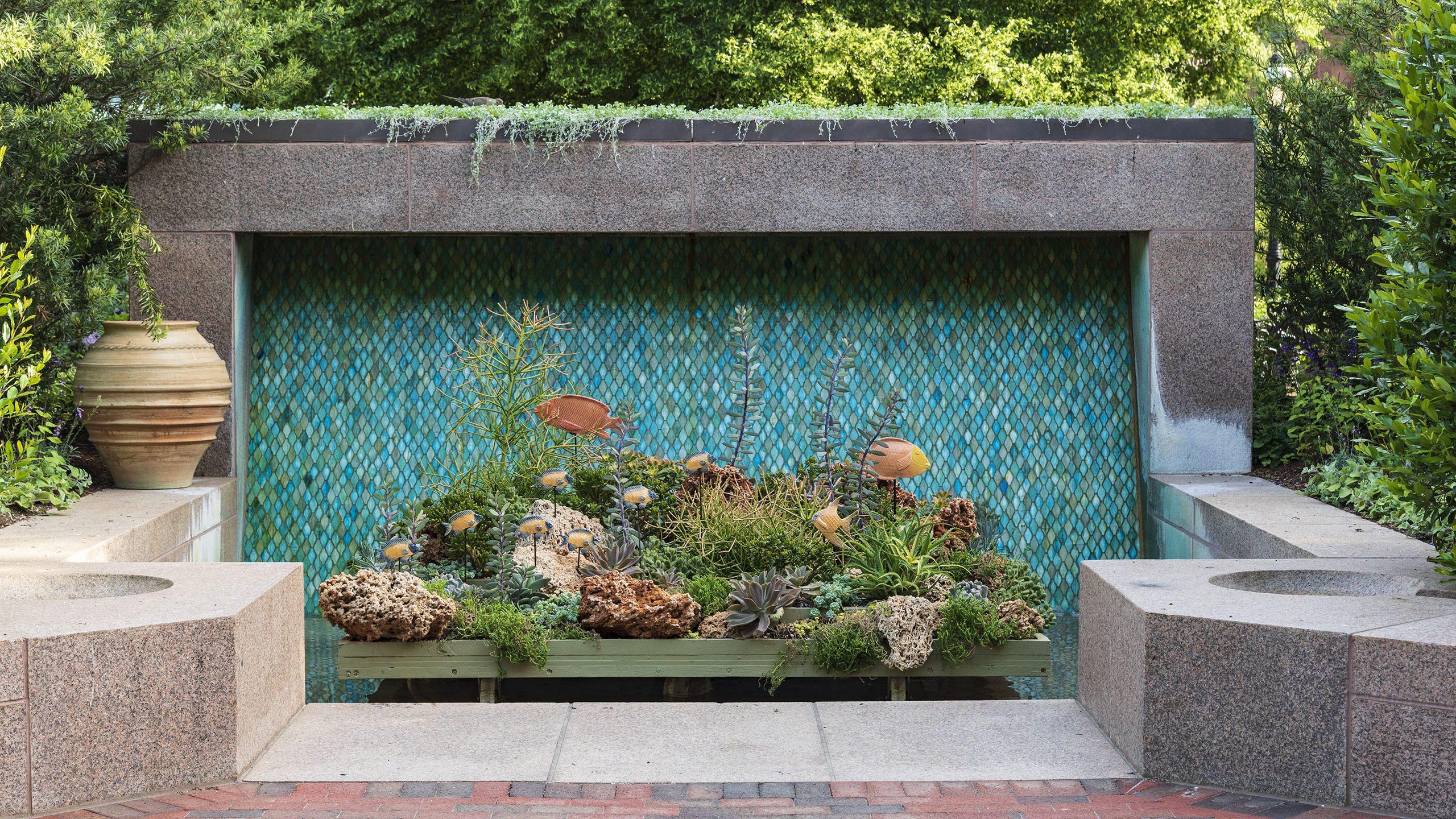 Foundation of the Sea in the Enid A. Haupt Garden Fountain Garden