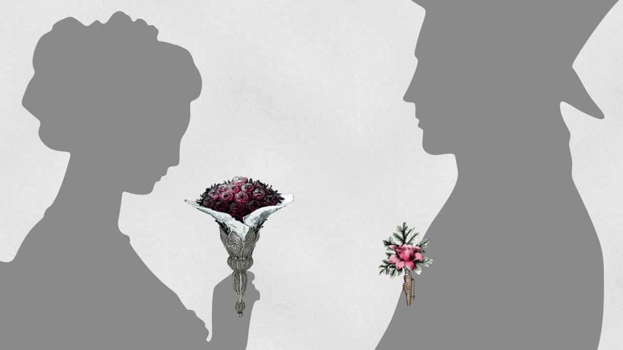 Floral Fashions Exhibit Illustrations