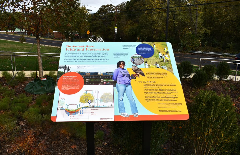 Anacostia Community Museum Landscape - The Anacostia River - Pride and Preservation