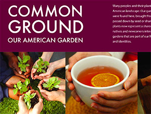 Common Ground: Our American Garden panels