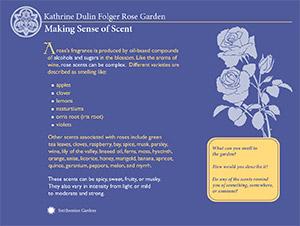 Katherine Dulin Folger Rose Garden Panels