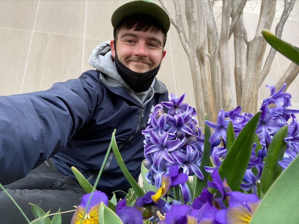 Philip Evich, Horticulturist for Smithsonian Gardens