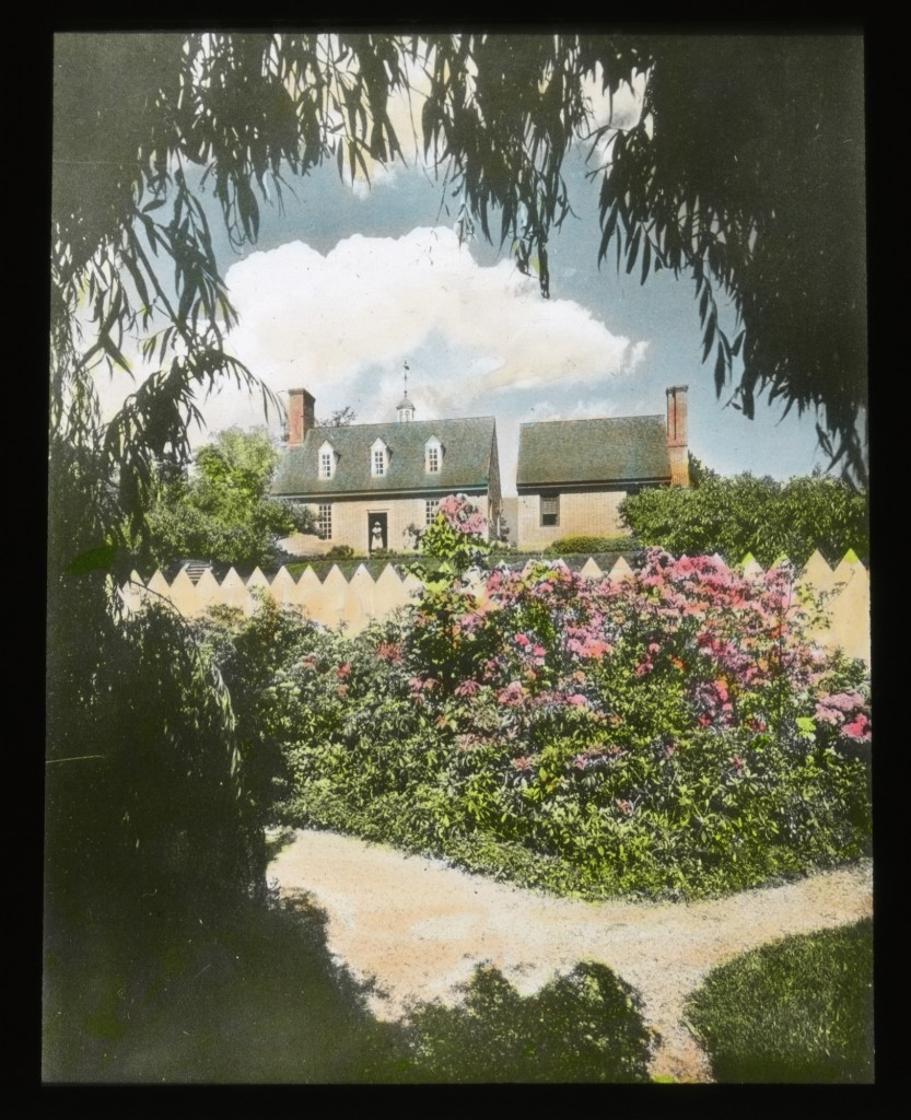 AAG, Archives Month -Governor's Palace, Williamsburg