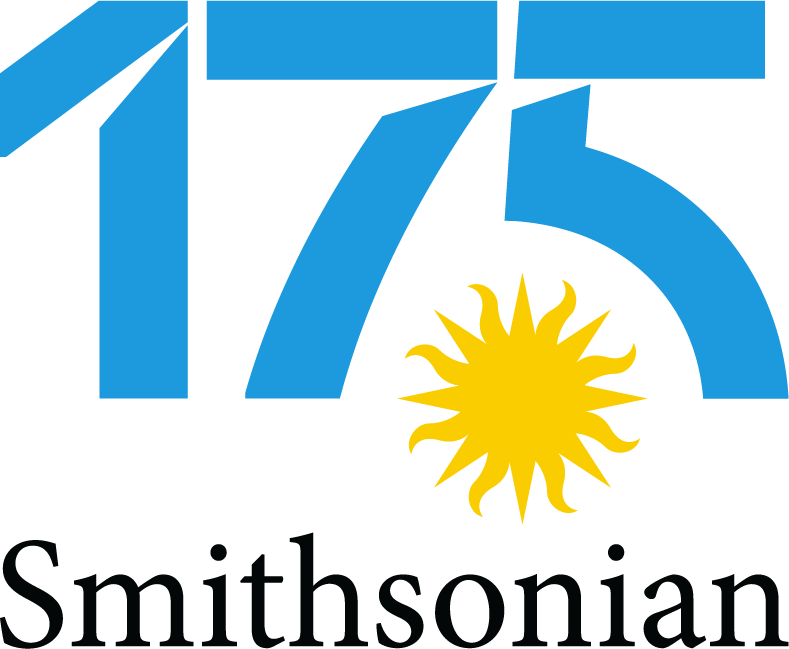 Smithsonian 175th Anniversary logo